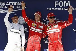 Fórmula 1 Relato de classificação Vettel e Kimi superam Mercedes e largam na frente na Hungria