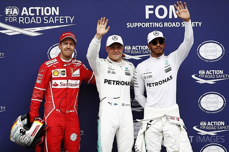 Bottas grijpt in Oostenrijk zijn tweede pole, vijfde startplek Verstappen