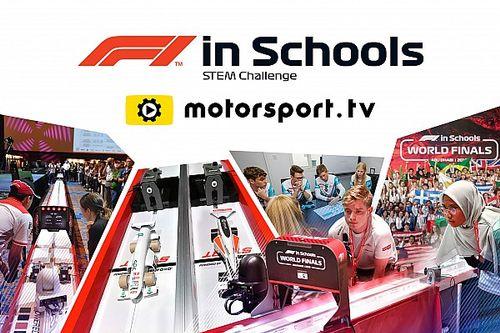 La final mundial de F1 in Schools será transmitida por Motorsport.tv