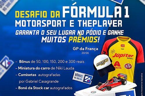 Fantasy ThePlayer Motorsport.com abre mercados para GP da França e dá miniatura de Niki Lauda