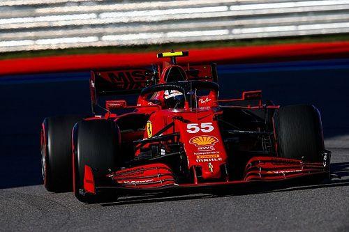Carlos Sainz Pede Bawa Ferrari Podium F1 GP Rusia