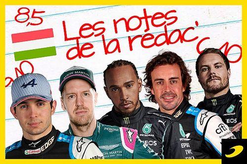 Les notes du Grand Prix de Hongrie 2021