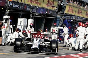 Diaporama : l'Alfa Romeo Racing au Grand Prix d'Australie