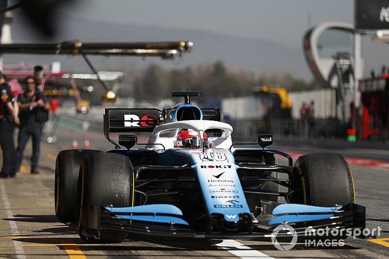 Williams past auto week voor seizoensstart aan na zorgen over legaliteit