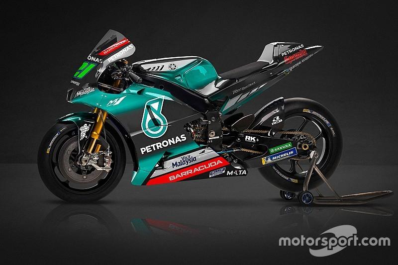 Il team Petronas SRT ha svelato la livrea delle M1 di Morbidelli e Quartararo per la MotoGP 2019