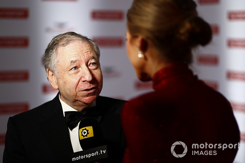 Autosport Awards: FIA's Todt honoured for halo introduction