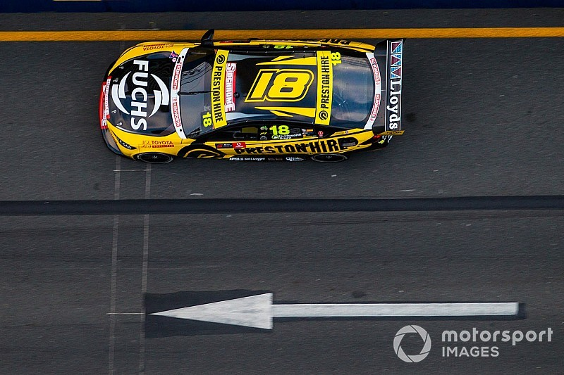 Newcastle Supercars: Holdsworth leads opening practice
