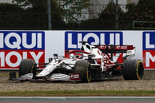 Raikkonen loses points after post-race penalty at Imola