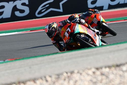 Portimao Moto3: Rookie Acosta wins last-lap duel to take commanding points lead