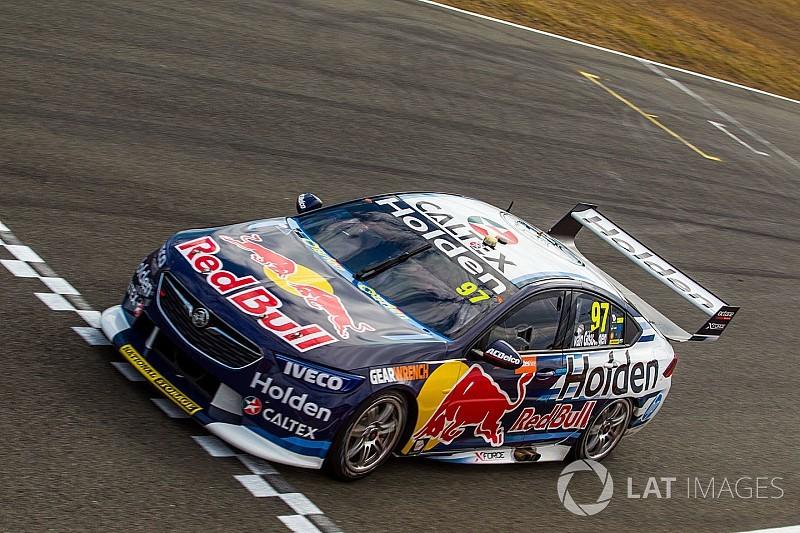 Ipswich Supercars: Van Gisbergen fends off McLaughlin for Race 2 win