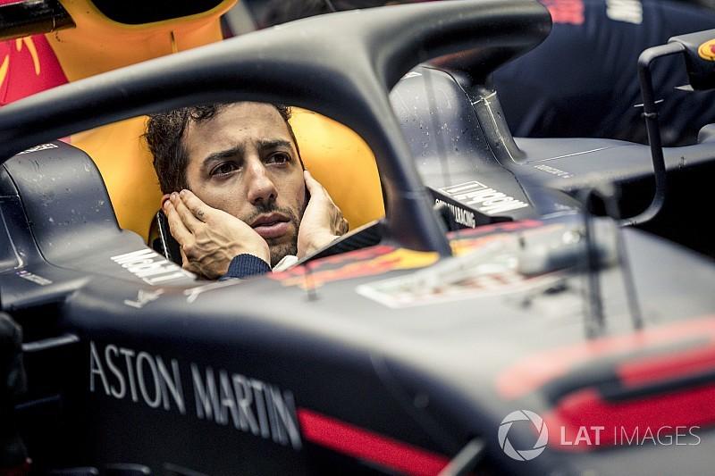 Ricciardo to start German GP from back of grid