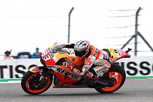 Márquez dominó el warm-up en Austin