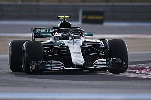 Formule 1 Réactions Bottas en première ligne :