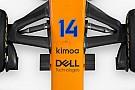 Forma-1 Alonso ruhamárkájával vannak tele a McLaren szponzorfelületei