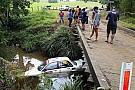 رالي أستراليا: إحدى السيارات تغرق في النهر في حادث غريب
