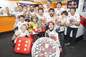 Suppo: Marquez akan tetap bersama Honda