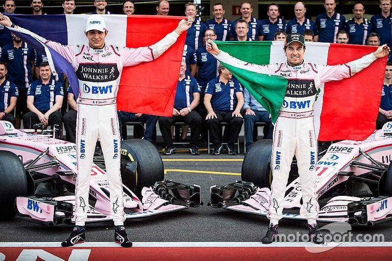 Perez: Araç ne kadar zor olursa olsun Ocon hep hızlı sürüyor