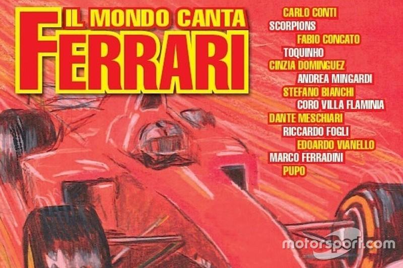 """Ventuno brani DOC nell'album """"Il mondo canta Ferrari""""!"""