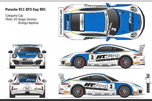 Dupla Jimenez/Baptista corre etapa da Porsche em Interlagos