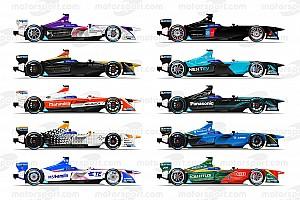 Formel E Feature Die Autos der Formel-E-Saison 2016/2017