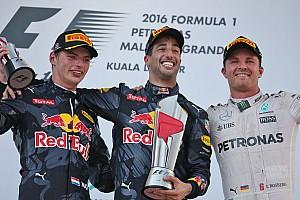 Formula 1 Race report Malaysian GP: Ricciardo grabs dramatic win as Hamilton blows up