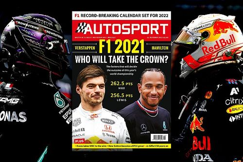 Magazine: F1's 2021 title fight between Verstappen and Hamilton
