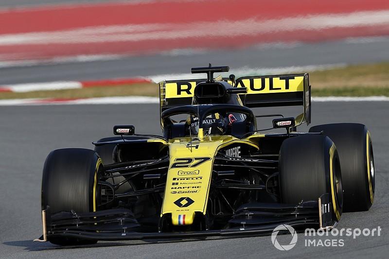 Hulkenberg Renault'nun test performansıyla cesaretlendi