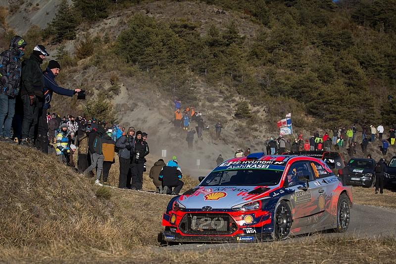 Monte Carlo WRC: Ogier stays ahead, Loeb takes third