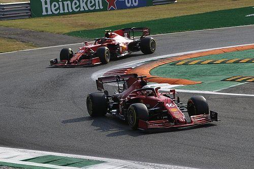 Sainz, SF21'de Leclerc'in tarzını kopyalamaya çalışıyor