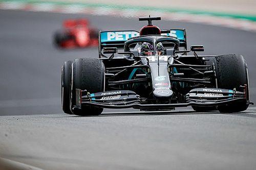 Mercedes explica decisión clave en la victoria de Hamilton en Portugal