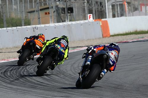 Las fotos del arranque del Gran Premio de Catalunya de MotoGP