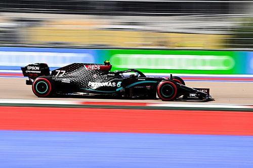 Bottas nel GP di Russia, penalizzazione per Hamilton