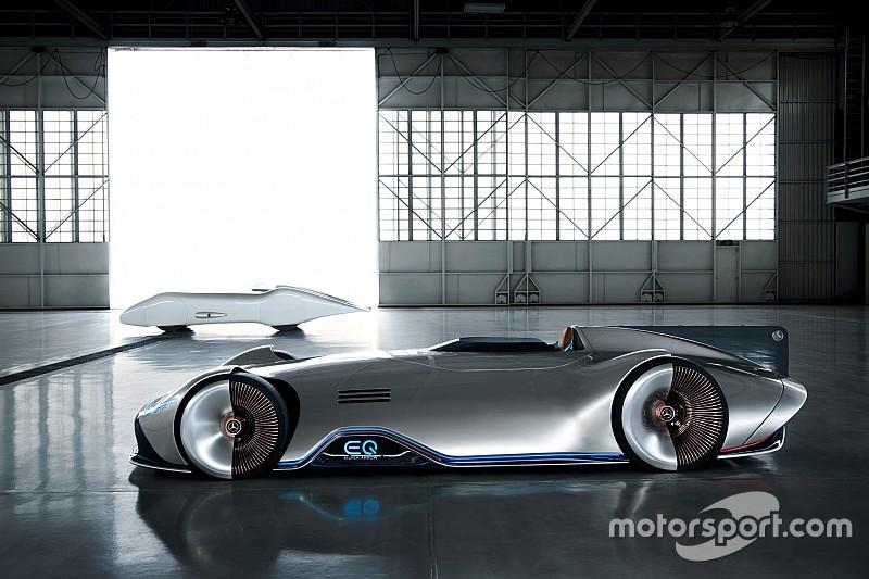 Mercedes-Benz презентувала електросуперкар в стилі ретро