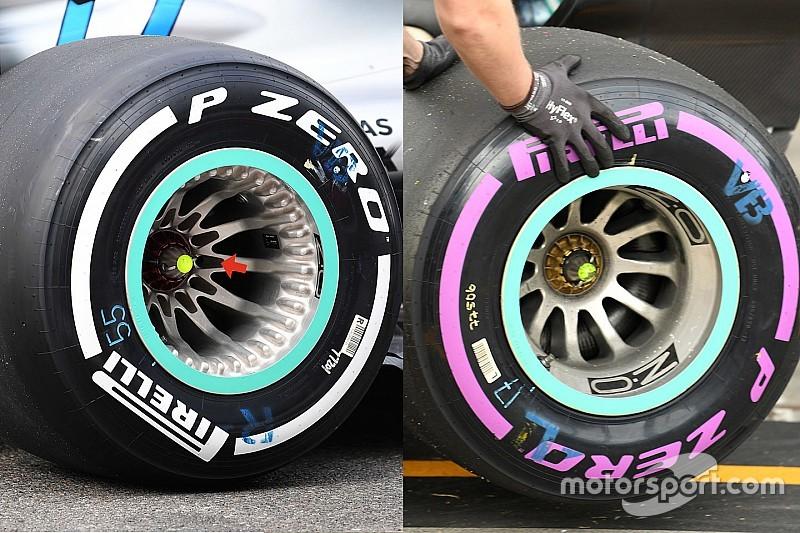 Mercedes'in jant tasarımı, FIA'dan onay aldı