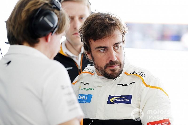 Alonso lästert nach Stroll-Kollision: