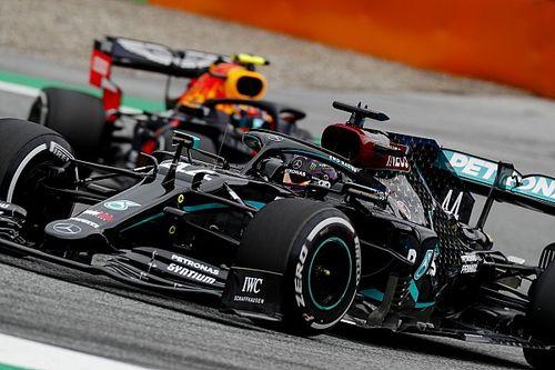 """Hamilton sur Albon: """"C'était un incident de course"""""""