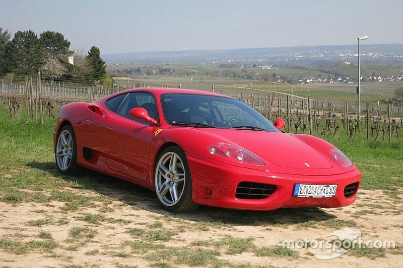 Occassiontip: koop de Ferrari 360 Modena F1 van Ronaldo