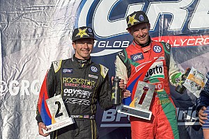 Global Rallycross Race report Scott Speed wins Round 7 in Indianapolis