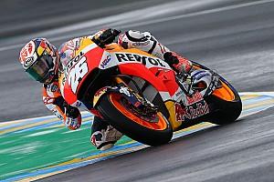 MotoGP Réactions Pedrosa dans l'incompréhension avec son pneu arrière