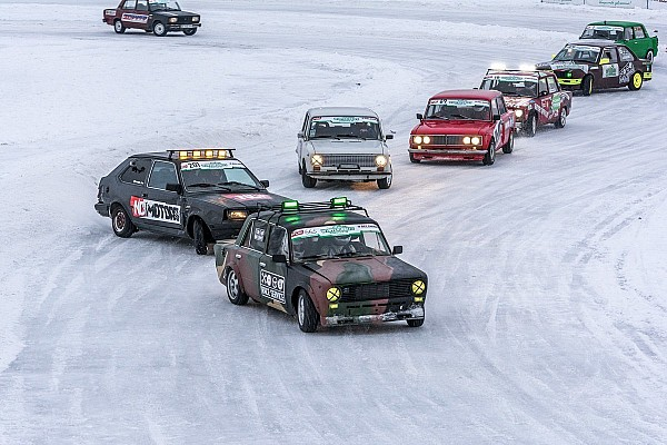 DCU Репортаж з етапу Зимовий дріфт: Олексій Головня здобуває першу перемогу сезону