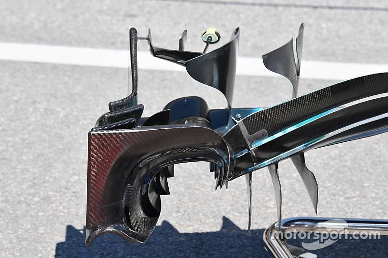 Formel-1-Technik im Detail: Mercedes W08 in Montreal