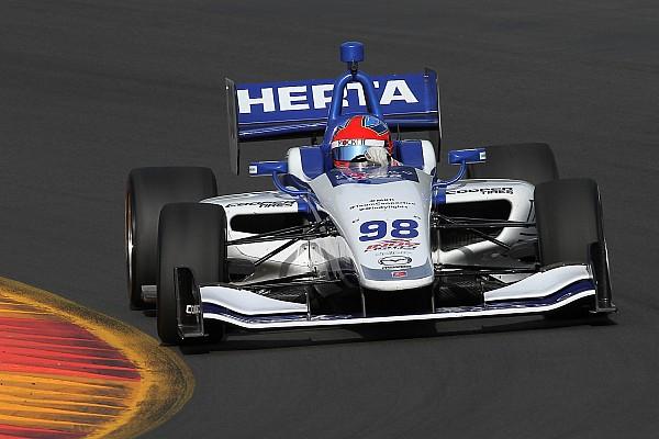 Indy Lights Colton Herta llega a siete poles en la temporada de Indy Lights