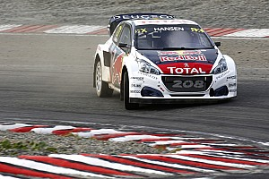 World Rallycross Réactions Le week-end pas si paradisiaque de Peugeot-Hansen à Hell