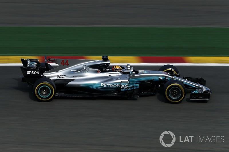Formel 1 2017 in Spa: Mercedes-Pilot Hamilton mit Freitagsbestzeit