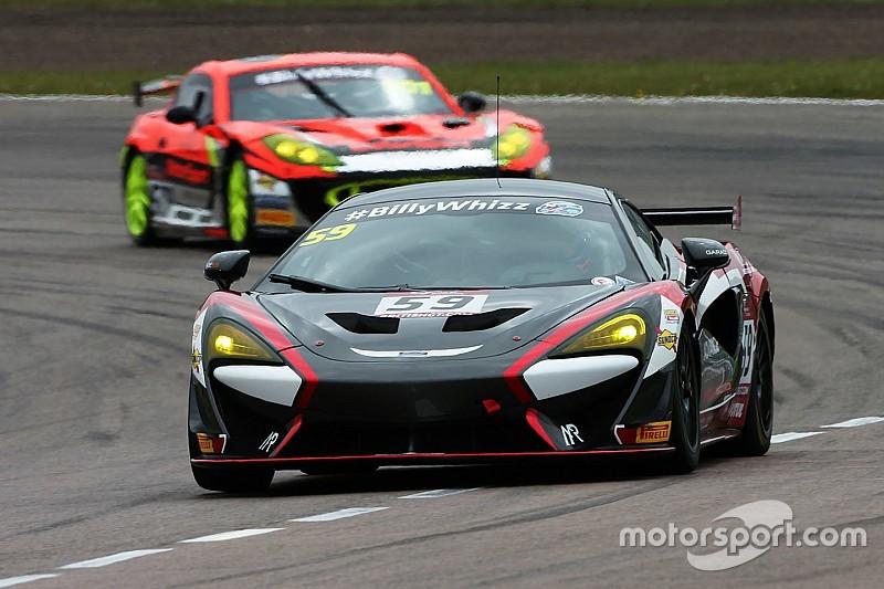Rockingham British GT: Rabindra scores another class podium