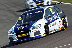 BTCC Qualifying report Donington BTCC: Sutton takes shock pole for Subaru