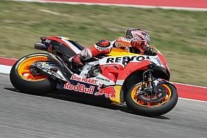 MotoGP Отчет о тренировке Маркес стал быстрейшим в третьей тренировке Гран При Америк