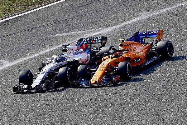 Forma-1 Motorsport.com hírek Így darálta be a Williamst a McLaren Kínában: onboard videó