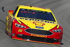 NASCAR Cup Race report Joey Logano wins incident-free first stage at Richmond
