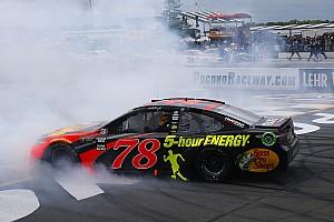 NASCAR Cup Отчет о гонке Труэкс одержал победу в гонке NASCAR в Поконо